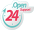 24/7 Open Support